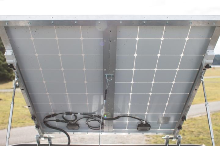 Van Conversions - Solar Power Set Up - Ford Transit Campervan