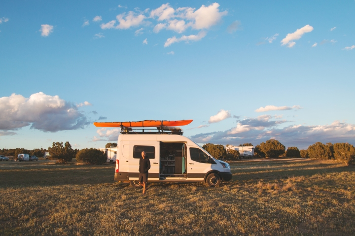 Van Travel With Your Significant Other - Ford Transit Campervan