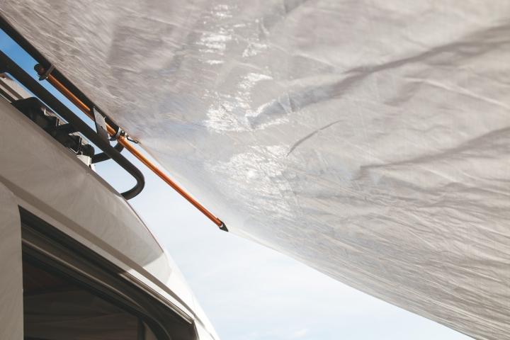 Campervan Ideas - DIY Van Awning - Ford Transit Campervan